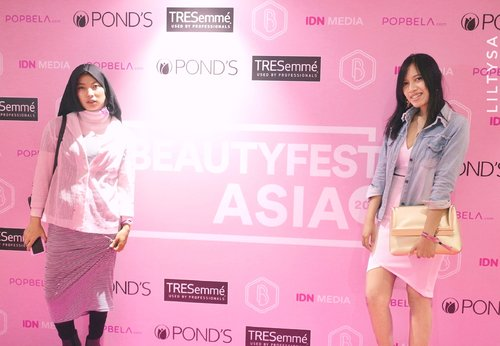 Major throwback! Beautyfest asia 2017