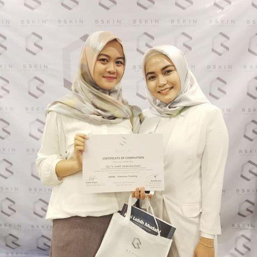 [22.09.2018]Thankyou @bskin.info @rhaudaesa atas undangannya untuk menghadiri Workshop  Healthy & Glowing skin di Hotel Sahid Imara Palembang kemarin ❤Suksek terus untuk kak Udho 😘..#bskin #bskincare #plgbeautyblogger #palembangbeautyblogger #beautybloggerpalembang #clozetteID