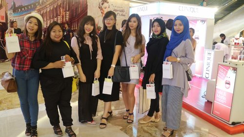 last event kemarin with Clinique