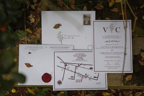 VANDERLAND: Making My Own Wedding Invitation
