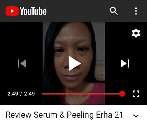 Review skincare erha. https://youtu.be/evRRJRtoBbM or go to link on my ig profile  #erha21 #skincare  #cchannelbeautyid #cchannelfellas #clozetteid  #youtubecommunity  #youtubesubscribers  #youtubeviewers