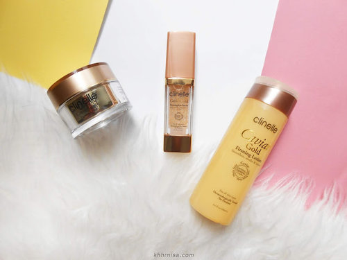 Beauty Sugar by khhrnisa: SP REVIEW - Clinelle Caviar Gold (Lotion, Eye Serum, Cream)