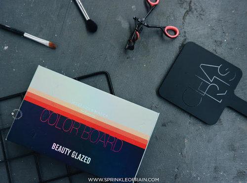 Sprinkle of Rain: [REVIEW] Beauty Glazed Color Board Eyeshadow Palette