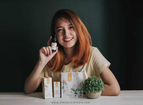 Sprinkle of Rain: [REVIEW] Dr. Hsieh : Skincare Taiwan Halal yang Ampuh Memudarkan Bekas Jerawat