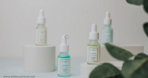 [REVIEW] Klois Blemish Skin Serum & Lightening Skin Serum