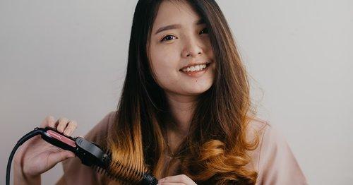 [REVIEW] Panasonic Beauty Hair Styler Straightener Brush Iron EH-HV40