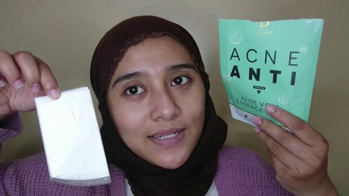 Sheetmask Anti Acne & Whitening  - Premiere Beaute Natural Plant Organic series Essence Mask - YouTube