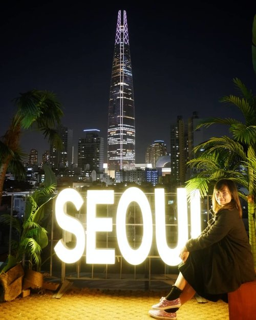 .I 💜 UI Seoul UHopefully I found U.#timetravel #wheninseoul #iseoulu #seoulism #lottetower #ktoid #autumn #youdeservetobehappy #workwithhappy #playwithhappy #neverstopplaying #dearbeautylove #clozetteid #zilingoid #neverafraid #changedestiny #daretobedifferent #borntolead #ajourneytowonderland #october #2019