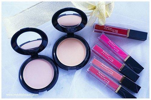 So excited to play with these things 😆😆😆...Gemesh ga sih 😘😘😘 . . Akhirnya punya semua warna lip cream nya plus oil control matte powdernya @purbasari_indonesia Review nya menyusul ya girls! 😘😘😘😘 . . . #Purbasari_HiMatte #purbasaribematte #meetyourtruemate #JogjaBloggirlsXPurbasari #mykittybeauty #clozetteid