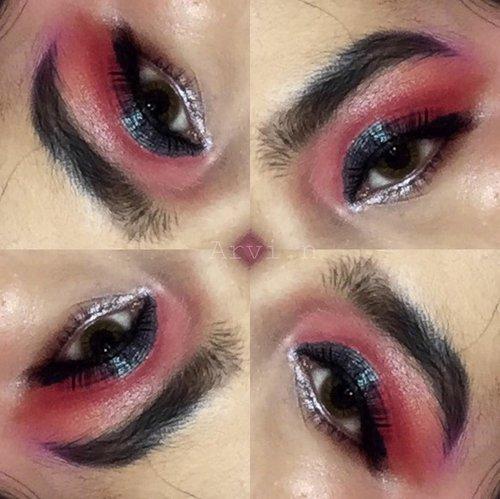 Dets  Alis @thebrowgal convertible brow Dark hair 01  Concealer @getthelookid l'oreal True match creamy beige 3.N Eyeshadow @focallure x @tasyafarasya the needs face palette  Eyeliner @maybelline hyper tight liner  Mascara @maybelline magnum big shot Softlens @spexsymbol @x2softlens seduction twilight  #playingwitharvi #BeautyBlogger #beautybloggerreview #eyeshadow #jakartabeautyblogger #bloggerceria #clozetteid #theneeds #eyelook #focallure #theneedsfacepalette #facepalette #focallurextasyafarasaya #undiscovered_muas #wakeupandmakeup #beautybloggerindonesia #indobeautygram #indobeautysquad #Bloggirlsid #JakartaBeautyBlogger #beautybloggerid #bloggermafia #setterspace #tampilcantik #lfl #maybellinehypertightliner #maybellinemagnumbigshot #eyeshadowlook