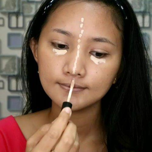 Birthday Makeup Tutorial ala-ala..😂😂 .  Mau Makeup sendiri buat party kamu atau ke party temen?? .  Full video ada di youtube!!😘 .  #clozetteid #makeup #tutorialmakeup #makeuptutorial #makeupparty #bvloggerid @bvlogger.id #gengbvlog #belajarmakeup #makeupbegginer #makeupideas #tampilcantik @tampilcantik #makeupsendiri #simplemakeup