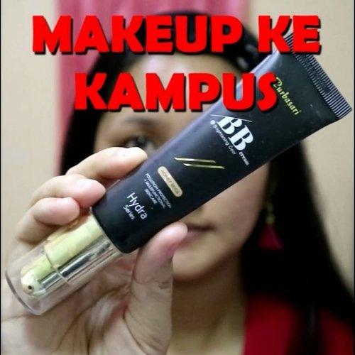 Ke kampus juga harus makeupan dong ya, biar dosen cowok yang masih singel bisa kasih nilai A..🤣🤣 .  #clozetteid #makeup #makeupkekampus #kampus #makeupkampus #makeupngampus #tampilcantik @tampilcantik @zonamakeup.id #naturalmakeup #pemulamakeup