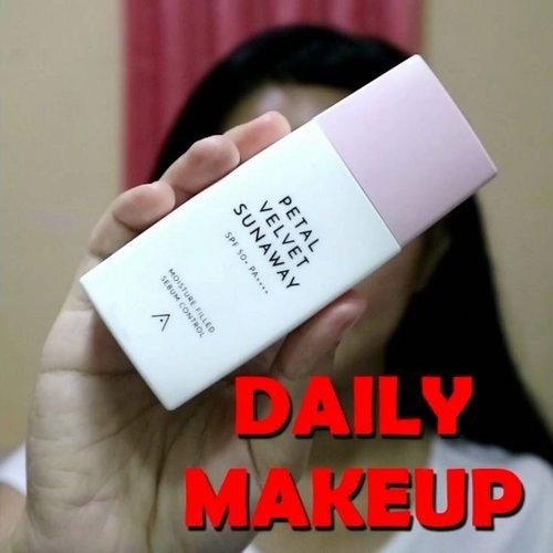 Makeup terus tiap hari biar di sayang suami..😝 .  #clozetteid #dailymakeup #daily #makeup #naturalmakeup #natural #makeupnatural #tampilcantik @tampilcantik #makeupsimple #makeupseharihari