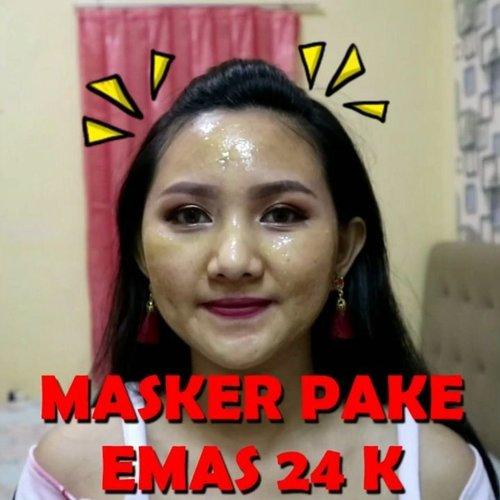 Masker ini murah banget, bisa bikin kukit cerah, halus, lembab, dan bonusnya bisa bantu angkat komedo juga..🤭.Jadi bisa menghemat pengeluaran juga kan, gak perlu beli masker dan pore pack..😜.Udah cobain??.#clozetteid #maskerkomedo #maskerpencerah #maskerpeeloffmurah #maskerpeeloff #peeloffmask #qiansoto #pencabutkomedo #maskergold24k #maskergold #maskergoldmurah