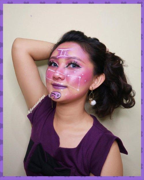 Selamat Hari Raya Idul Fitri 🙏 .  #clozetteid @clozetteid @clozetteco #gemini #artmakeup #artzodiac #makeupkarakter #makeup #makeupgemini #geminisign #zodiacsigns #zodiac #zodiacmakeup #zodiacsign #zodiacpost #zodiacposts @tips__kecantikan @tipsmakeup_id @tampilcantik #tampilcantik @makeupkarakter_id
