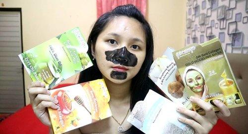 Masker lokal ini ternyata bisa buat angkat komedo juga loh...Gak mau dong pas lebaran muka banyak komedonya?? Apsti makeup juga jadi gak nempel..😔.Review lengkap ayo ke channel youtube ku aja..😁.#clozetteid #maskerwajah #maskerkomedo #maskerterbaik #maskerlokal