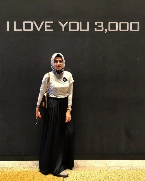 I love you, 3000...#ClozetteID #bachtiarsholiday #personalblog #personalblogger #likeforlikes