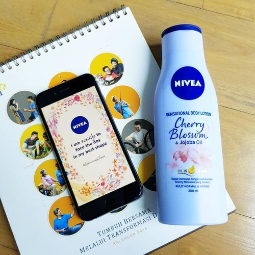 I am ready to face the day in my best shape and it is: A SMILE. So, don't forget to smile every single day. That's the best curve of mine, actually. What about you?@nivea_id #SensationalTouch #ClozetteID