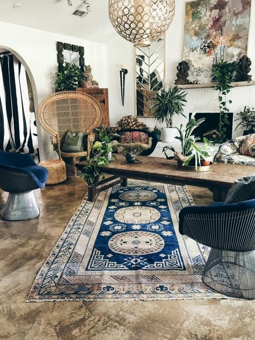 Boho decoration home. Who don't love this? No one! So cool, isn't it? Yeshh❤ Source: Pintetest #ClozetteID
