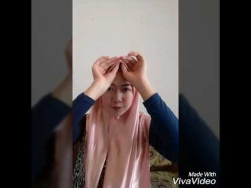 #3 Tutorial Hijab Satin by Shuli - YouTube |don't forget to like, comment and subscribe. Thank youu... #clozetteid