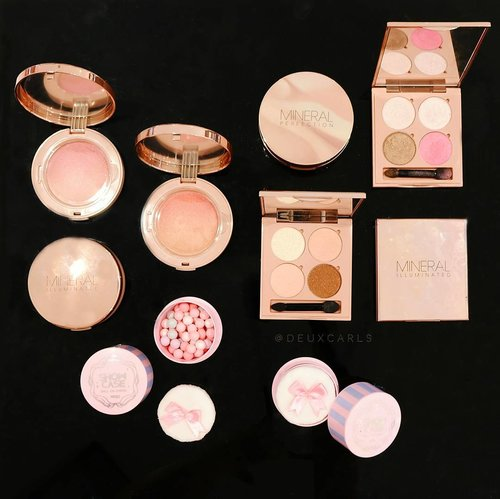 Rose Gold Makeup, anyone? 😍 Check out these babies from Mineral Illuminated Makeup collection by @vovmakeupid!  Sophisticated packaging with rose gold-themed color, with non-irritant and longlasting mineral formula. What else can you ask for? All the products in collection are definitely over the top 💯  Check out more about the fun of the launching event on my blog. Link on bio ♡ (Psssst, the reviews of these products will be airing soon too 😆) #VOVmakeupid #vovkmakeup #VOVxClozetteIdReview #clozetteid #clozetteidreview #メイク #今日のメイク #コスメ #vovmakeup #kbeauty #kmakeup #mineralmakeup #vovkorea #vov