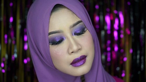 one color,  dan aku cinta warna ungu 😝..#clozetteid #Beautiesquad #BSAugCollab #BSCollab #OneColorBS #MonochromeMakeup @beautiesquad #tampilcantik @tampilcantik #ragamkecantikan #ragam_kecantikan @ragam_kecantikan #ultraviolet #eyemakeupideas