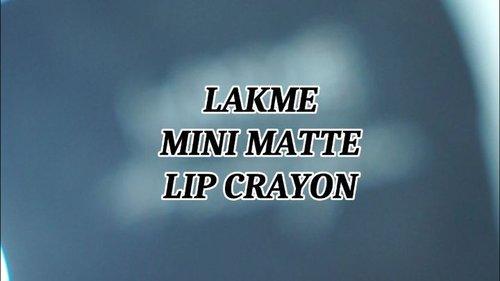 Happy Friday mantemaaan.. @lakmemakeup mini matte lip crayon, salah satu matte lipstick yang aku lagi suka udah aku review di youtube channel aku (Youtube : Hai Ariani) ini link nya https://youtu.be/lnwnLIjw7FA atau kamu bisa klik di bio aku.#clozetteid #lakmeminimattelipcrayon #lakme #nudelipstick