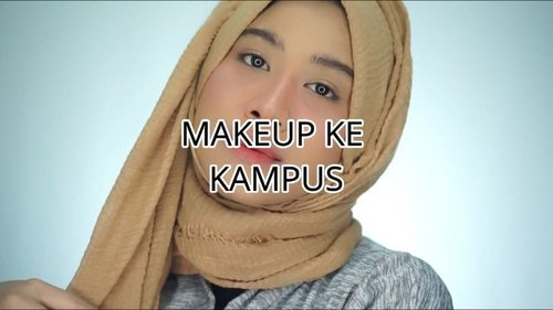 sering dikira masih kuliah (Alhamdulillah ya Allah 😭🙏, aku bikin video ini.. Makeup untuk ke kampus.. Produk yang aku pakai:@studiotropik Flawless Priming Water@rollover.reaction Cushion 103 Milk Tea@imploracosmetics Pensil alis grey brownEssence Hey Cheeks palettePeripera Airy Ink Velvet 06The Saem Concealer 02#clozetteid #makeupnatural #naturalmakeup #makeupkekampus #simplemakeup