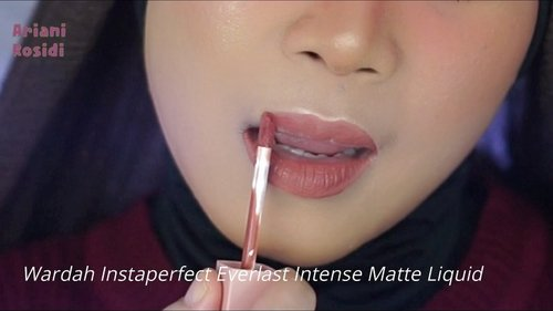 @makeoverid Powerstay Transfer proof Matte Lip Cream vs @wardahbeauty Instaperfect Everlast Intense Matte Liquid.Kamu pilih yang mana gengs?Selengkapnya ada di YouTube aku ya (Youtube: Hai Ariani) linknya ada di bio aku. ❤️#clozetteid #makeoverpowerstay #makeoverpowerstaytransferproofmattelipcream #wardahinstaperfect #wardahinstaperfecteverlastintensematteliquid