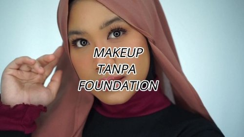 Tips untuk sistur-sistur yang mau makeup tipis-tipis tanpa foundation / cushion.Produk yang aku pakai:1. @studiotropik flawless priming water2. @nyx can't stop won't stop concealer - Neutral Tan3. @blpbeauty Loose powder@dermayu.official lip cream 04#clozetteid #makeupnatural #makeuptanpacukuralis #makeuptanpafoundation #makeup #naturalmakeup #makeuptips #tipsmakeup