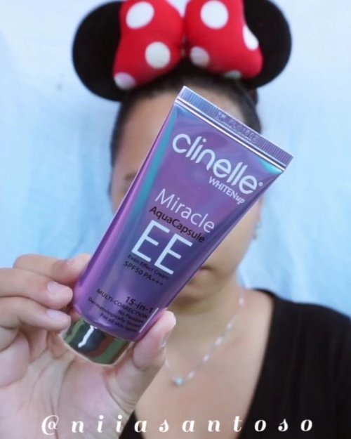 [TURN UP THE VOLUME PLEASE]🍃Daily Makeup using EE CREAMIn today's video I'm using @clinelleid WhitenUp Miracle AquaCapsule EE Cream SPF 50 PA++++ Easy to use and not heavy at all for daily makeup. You can read my thoughts about this product on my blog www.niiasantoso.com or simply just click link on my bio--@clozetteid #clozetteid #clinellexclozetteidreview #clozetteidreview #protectandreviveyourskin #dayandnight #withclinelle #clinelleindonesia #clozetteindonesia #clinelleeecream #tipskecantikan #ragamkecantikan #makeupseharihari #naturalmakeup