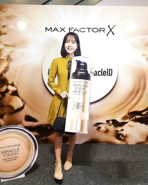 Come and join me at Mac Factor Miracle Workers Makeup Competition! #MaxFactorMiracleID #clozetteID I'm wearing classic dress from @pootikpootik 💛