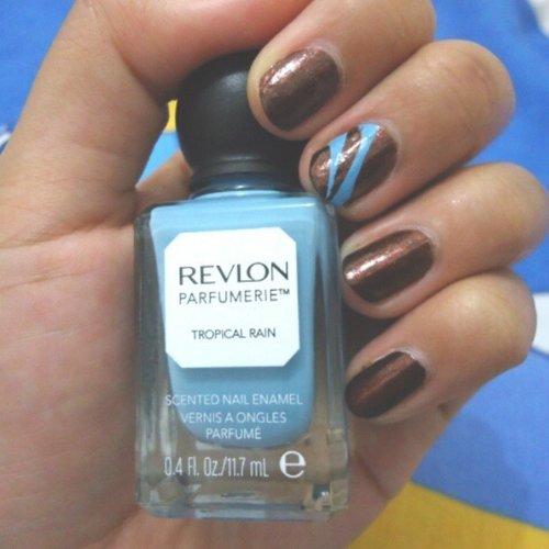 Mix with the other, #TropicalRain #RevlonParfumerie #ClozetteID #Nails