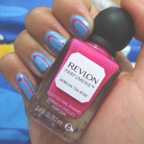 Love it, #AfricanTeaRose #RevlonParfumerie #ClozetteID #Nails