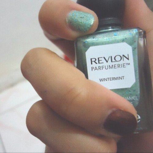 Realy recomended, #Wintermint #RevlonParfumerie #ClozetteID  #Nails