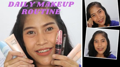 Daily makeup routine udah up di channel youtube gw....  Di look ini gw pakai : @skinaquaid  sunscreen @lakmemakeup  cc cream @eminacosmetics eyeshadow @silkygirl_id eyebrow @maybelline_indonesia eyeliner dan mascara  @officialhanasui Mattedorable lipcream  So.... Tonton ya tutorial look nya.  Channelnya ITSMEDEVONN ya.....  .  .  .  #dailylook #dailymakeup #makeup #tutorialmakeup #video #youtube #youtubevideos #likeforlikes #love #clozetteid