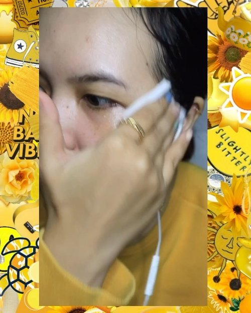 No matter how tired I am at the end of the day, I always make it a point to remove all traces of makeup before I hit the sack. A shower is negotiable, but makeup removal I won't skip, because makeup can clog pores while you sleep, resulting in the development of blackheads, acne and dullness #srsbeauty