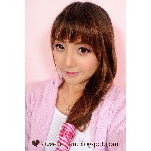 Sweet Pink Valentine Makeup look Join #guergivalentine  #guergigiveaway  @guergi_id  #fotd #fotdibb  #beautiesid  #clozetteid  #pink  #valentine #Makeup  #selfie  #selca  #selfcam  #Korean  #ulzzang  #uljjang  #instalike