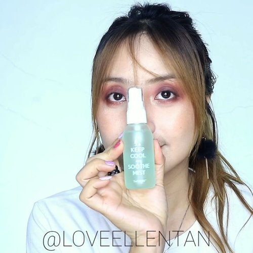 Setting Spray favorite! @keepcool_global SOOTHE FIXENCE™ MIST ❤Setting spray untuk kulit sensitif & jerawat. Membuat makeup gak cakwy & lebih awet. 2 phase setting spray yang harus dikocok dulu sebelum dipakai. Dan sprayernya bagus butiran yg keluar halus dan menyebar. 😍Kalian bisa gunakan sebelum makeup juga untuk melembutkan tezture wajah dan melembabkan. Semprot pada jarak 20-30cm ..Kalian bisa beli dengan link dibawah ini atau dengan harga diskon ❤https://hicharis.net/ellentan/9Ox#KEEPCOOL #SOOTHEFIXENCEMIST #charisceleb @charis_celeb .#fdbeauty #clozetteid #universalhairandmakeup  #ivgbeauty #makeupclips #fiercesociety #tampilcantik #wakeupandmakeup #makeuptips #indobeautygram #makeupaddict #amazingmakeupart  #indovidgram #makeupvideo #lagirlindonesia #discover_muas #beautyguruindonesia #beautygram #beautybloggerindonesia #muablora #eotd #discovervideos #nyxcosmeticsid