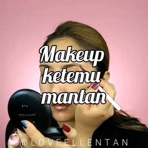Ciehh....ketemu mantan kudu gimana sihhh😂😂😂 . . . .  @indobeautygram @indovidgram #eotd #fdbeauty  #clozetteid  #makeupartistworldwide #maybelline  #anastasiabrows #ivgbeauty #makeupclips  #nyxcosmetics #tipsmakeup #makeuplover #wakeupandmakeup #makeuptips #indobeautygram #makeupaddict #lagirlindonesia #amazingmakeupart #anastasiabeverlyhills #undiscovered_muas #indovidgram #tutorialmakeup #makeupvideo #nyxcosmeticid #discover_muas  #beautyguruindonesia #beautygram #beautyvlog #hypnaughtymakeup #instamakeup