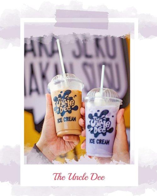 Siang siang gini emang enaknya minum Super Latte Float dari @theuncledee_icecream 🍻⠀⠀Asli syegerrrr banget. Favoritku 2 varian ini nih, Mocha Latte & Taro Latte. Paduan mocha / taro + ice cream yg milky beuhh nikmat banget 🤤👌⠀⠀📍The Uncle Dee Ice Cream ⠀💸 Regular 10K , Large 13K ⠀⠀⠀#TheUncleDee #CaraSeruMakanSusu #ClozetteID #FoodReview