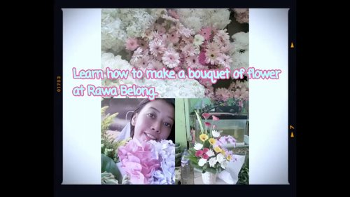 Learn how to make a bouquet of flower at Rawa Belong, Jakarta. Indonesia | #dailydev - YouTube