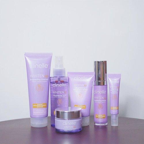 Beberapa minggu kemarin aku nyoba rangkaian terbaru dari @clinelleid yaitu WhitenUP ✨ Dulu aku udah pernah pakai rangkaiannya mereka yang PureSwiss, dan itu oke banget. Tapiiiii (spoiler dikit nih), aku kurang cocok sama rangkaian yang ini 😭😭.Clinelle WhitenUP ini menggunakan teknologi Anti-Photoaging Technology untuk melindungi kulit dari sinar UV, dan mencerahkan kulit dengan kandungan Rice Purple Japanese, Vitamin C dan Ekstrak Bunga Daisy..Ada 6 produk yang aku review mulai dari cleanser sampai night cream. Buat yang penasaran pendapatku dan kok bisa nggak cocok di aku, baca sampai akhir ya di blogpostku. www.jessicaalicia.com or click the link on my bio 💜.....#jessicaalicias #jessicaaliciasreview #Clinelle #ClinelleIndonesia #ClinelleWhitenUp #7SecretstotheHappySkin #RadiatetheBrightness #TheTrueHealthyRadiantSkin