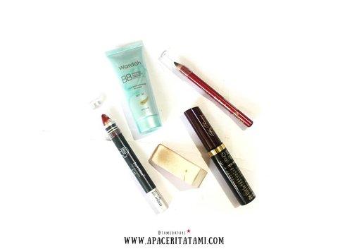 Yak, jadi 5 item ini yang aku pakai untuk 100K Makeup Challenge. Ga nyampe 100 ribu malah, soalnya bingung cari produk lainnya yang bisa di mepet2in biar pas 100 ribu wkwk 😋✌.Lebih detailnya lagi tentang challenge kali ini bisa mampir aja ke blog yuk di 👉 ((bit.ly/100KMakeup) 👈 atau bisa langsung klik link yang ada di bio ya~♡.#BeautygoersID @beautygoers #100KMakeupChallenge #clozetteid