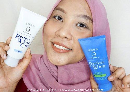 Akhirnya cobain facial foam No.1 di Jepang @senkaindonesia Perfect Whip yang mempunyai 4 varian. Diantaranya adalah:• Clean & Nourished Skin (Moist)• Fair & Radiant Skin (White)• Matte Skin For Longer (Anti Oily/Matte)• Deep Cleanse & Brighten Skin (White Clay).Sabun pembersih wajah ini punya busa lebih besar, padat dan halus yang membuat momen mencuci wajah jadi lebih nyenengin. Jadi busanya ini yang akan membantu membersihkan wajah dari kotoran..Varian facial wash mana yang jadi favorit kalian?.#PerfectWhip210 #SenkaIndonesia #PerfectlySuppin #ClozetteID