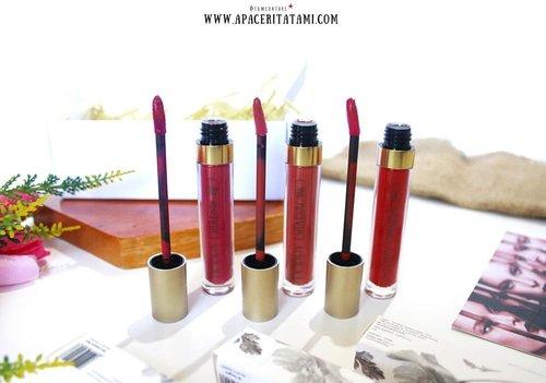 Ada 10 pilihan shades dari @poppydharsonocosmetics dan aku udah coba 3 shades yaitu 02 Poppy Queen, 06 Sangria dan 09 Crimson Red. Bisa digunakan dengan 3 fungsi sekaligus juga lho yaitu sebagi blush on, eyeshadow dan tentu aja lipcreamnya..Review lengkapnya udah up di blog kok 👉 ((bit.ly/LipcreamPD)) 👈 atau bisa langsung klik link di bio. Mampir dulu lah, jangan dianggurin🐣.#BeautyRanger @beautyranger.id #BeautyRangerProject #BRxPoppyDharsono #clozetteid