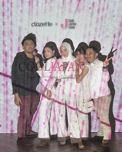 Post this, because supaya fotonya jejer 3 temanya puti-puti Cool Japan, terus supaya later nanti bisa dipakai as memories post gitcu~~.#ClozetteID
