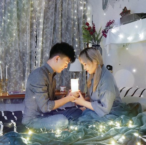 Silent night, Holy night⭐️All is calm, All is bright.We are decorating with Led light bulbs for shining and glowing overall room 💡💜Happy Christmas Eve guys👼-#sohancouple#sohaninteriorstyling #christmaseve