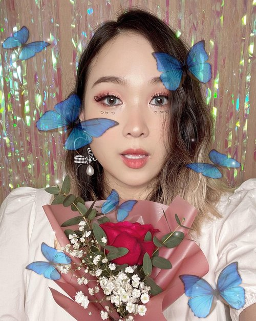 잇츠 발렌타인데이 메이크업!New🌹 Valentines day makeup🌹Who wants to get inspiration of Valentines makeup!?🙋‍♀️-#iamacoolmom #valentinesmakeup #valentinesdaymakeup #koreanmakeuplook