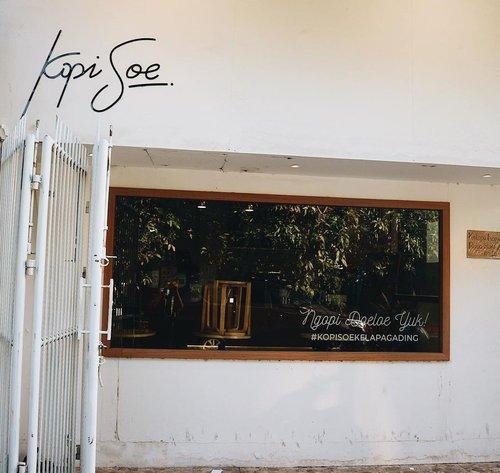 Craving for Es Soeklat Roegal @kopisoe 🤤#clozetteid #coffeeshop